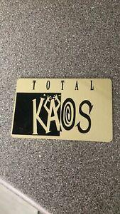 Total Kaos Membership Card Oldskool Rave Club