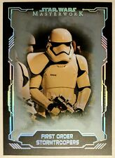 2016 Topps Star Wars Masterwork First Order Stormtroopers #47 Silver #62/99