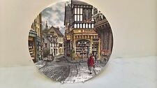 Royal Doulton Window Shopping Series Collectors Plate The Bakers Shop Boxed