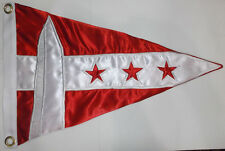 Washington DC Boat Yacht Club Harbor Ship Regatta Marina Pennant Flag Burgee Sea