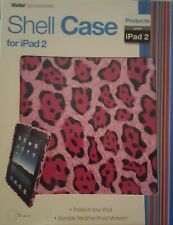 VIVITAR Shell Case for IPAD 2 PINK LEOPARD NEW IN BOX