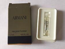 Échantillon Parfum Armani Eau Pour Homme