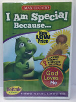 """Max Lucado Hermie & Friends """"I Am Special Because...God Loves Me"""" DVD New"""