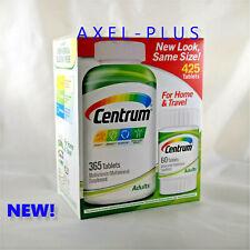 Centrum 425 Tablets Men/Women Adults under 50 Multi Vitamin Mineral ( 365 + 60 )