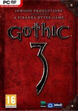 Gothic 3 (PC, 2008, DVD-ROM, UK Import) UPC # 9006113133063