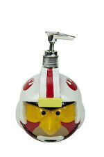 ANGRY BIRDS STAR WARS Soap Dispencer Pump LUKE SKYWALKER NWT