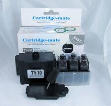 Black Smart Ink Refill Kits for Canon PG-210 PG210 PG-210XL PG210XL Cartridge