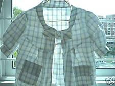BRAND NEW Short sleeve Crop Jacket in 2 designs - $15 each