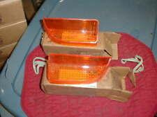 NOS MOPAR 1970-3 DODGE CORONET AMBER PARK LENSES R/T