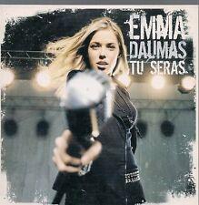 CD SINGLE 2 TITRES--EMMA DAUMAS--TU SERAS--2004