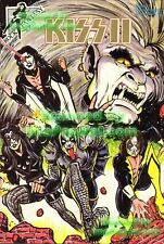 KISS II ☆ Special Limited Edition Convention '92 Gold Logo Rock Fantasy Comic 18