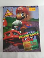 Nintendo Power Super Mario Kart 64 Player's Strategy Guide Book