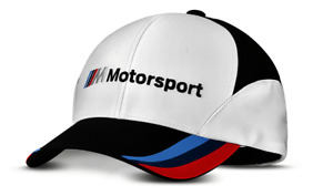 Genuine BMW M Motorsport Cap Hat with ///M Design Badge Logo New Collection