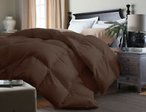 ROYAL LUXE COMFORTER COLOR CHOCOLATE SIZE FULL/QUEEN NIP