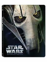 Star Wars Épisode III La Revanche Des Sith Édition Limitée boîtier SteelBook