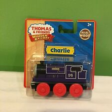 NEW SEALED RARE THOMAS AND FRIENDS WOODEN RAILWAY CHARLIE TRAIN SHIPS FREE