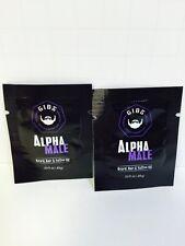 Gibs Alpha Male Beard, Hair, & Tattoo Oil - Sample Packs .03oz X2!