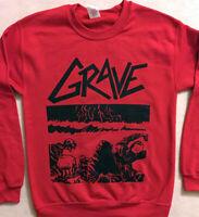 GRAVE SWEATSHIRT death metal Dismember Entombed MORBID ANGEL sweat shirt S - XL