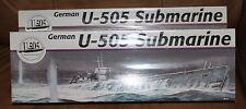 REVELL WORLD WAR II GERMAN SUBMARINE U-505 - NEW SEALED - 2004 MODEL