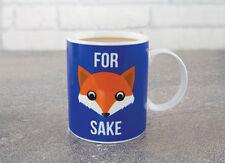 For Fox Sake Novelty Mug Cookie Tea Coffee Cup Office Funny Secret Santa Gift