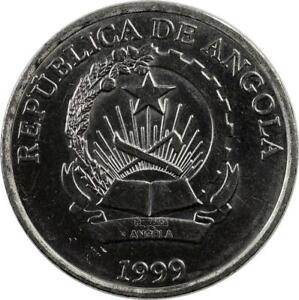 ANGOLA - 5 KWANZAS - 1999