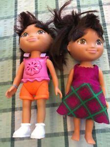 2 Dora The Explorer Dolls