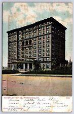 Schenley Hotel in Pittsburgh, Pennsylvania William Pitt Student Union Postcard