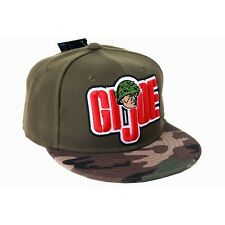 Officielle g.i. joe symbole/logo kaki/camouflage casquette réglable (neuf)