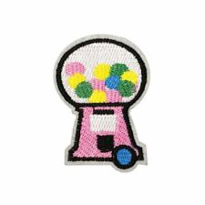 Candy Machine (Iron on) Embroidery Applique Patch Sew Iron Badge