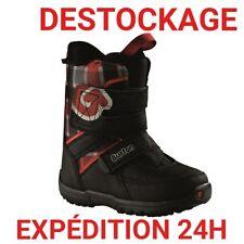 """chaussure de snowboard enfant NEUVE BURTON """"GROM"""" TAILLE 36 IDEAL PETIT BUDGET."""