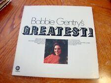 BOBBIE GENTRY GREATEST! GATEFOLD COVER VG+ VINYL