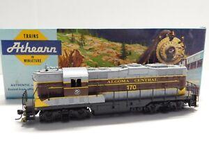 HO Scale - Athearn - Custom Algoma Central GP-9 Diesel Locomotive Train #170