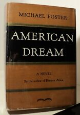 American Dream by Michael Foster - 1937 - First edition - pwe11