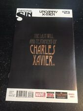 "Uncanny X-men#23 Awesome Condition 8.0(2014)""Original Sin"" Xavier Will Cover!!"