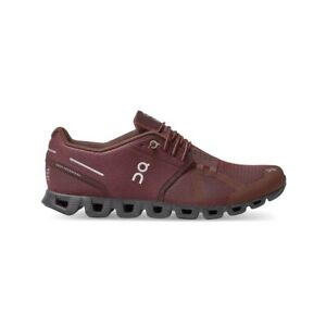 ON Cloud Monochrome Men's Road Running Shoes, Mulberry