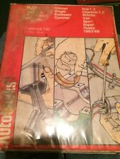 Autobooks 740 . Hillman IMP Workshop Manual 1963-68