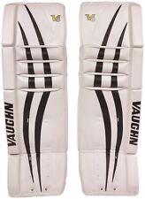 """New Vaughn 1000 Goal Sr ice hockey leg pads 32""""+2 Black/White Velocity V6 goalie"""