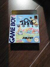Trip World game boy FRG version ,art box only.NO GAME