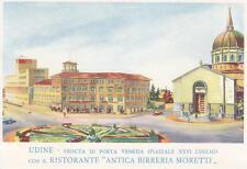 A7902) UDINE, RISTORANTE ANTICA BIRRERIA MORETTI.