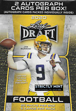 2020 LEAF NFL Draft Picks Blaster Box 2 AUTOGRAPHS per Joe Burrow Tua Hurts AUTO