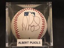 Albert Pujols Auto Signed Autograph Rawlings MLB Baseball