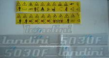 Serie Decalcomania-Adesivi Per Trattore Landini 5030F...