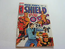 Nick Fury, Agent Of Shield Comic #12 May 1969 Barry Smith Cover Art Very Fine-