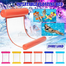 Inflatable Floating Lounge Bed Float Beach Swimming Pool Raft Water Hammock US