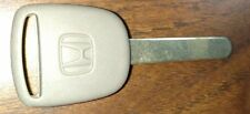 NEW HONDA OEM TRANSPONDER CHIPPED KEY BLANK  L CHIP MADE IN THE USA