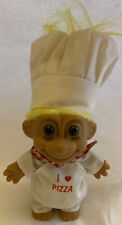 Trolls Figure Russ Doll Yellow Hair Large Figure 5 inches Tall Rare
