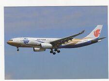 Air China Airbus 330-243 Aviation Postcard, A994