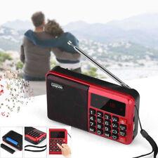 Portable Digital LCD Display Mini FM Radio Speaker USB TF Card MP3 Music Player