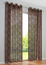 Markenlose Gardinen & Vorhänge mit Ösenaufhängung 151 - 200 cm Breite