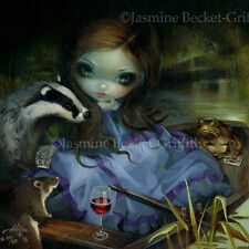 Wind in the Willows Jasmine Becket-Griffith CANVAS PRINT Mr. Toad big eyes art